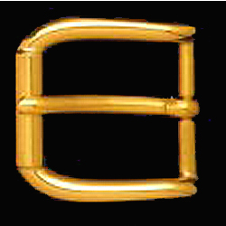 DVOS4026-35 mm brass roller buckle