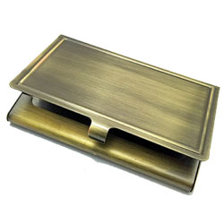 Business Card Holder Bronze