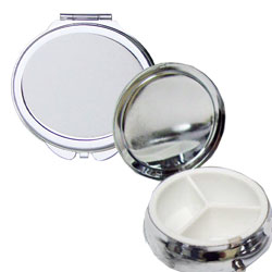 Pillb boxes and mirrors