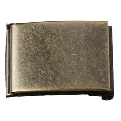 Antique Brass Finish We Buckle 40 mm