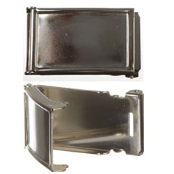 Clamshell Web Buckle For Dome Insert 30 mm